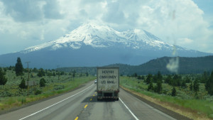 The awesome Mt Shasta